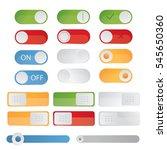 modern illustration of toggle... | Shutterstock . vector #545650360
