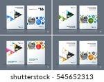 business vector. brochure... | Shutterstock .eps vector #545652313
