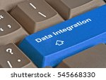 keyboard with key for data... | Shutterstock . vector #545668330