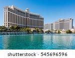 las vegas  nevada  usa  ... | Shutterstock . vector #545696596