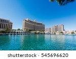 las vegas  nevada  usa  ... | Shutterstock . vector #545696620