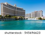 las vegas  nevada  usa  ... | Shutterstock . vector #545696623