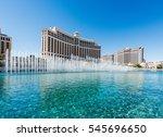 las vegas  nevada  usa  ... | Shutterstock . vector #545696650