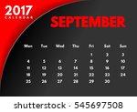 vector calendar for 2017. the...   Shutterstock .eps vector #545697508