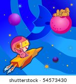 outer space | Shutterstock . vector #54573430