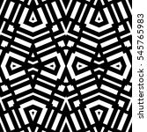white repeated geometric...   Shutterstock .eps vector #545765983
