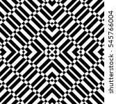 repeated black geometric...   Shutterstock .eps vector #545766004