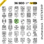 seo   search engine... | Shutterstock .eps vector #545769349