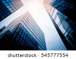 low angle view of skyscrapers... | Shutterstock . vector #545777554