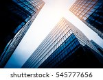low angle view of skyscrapers... | Shutterstock . vector #545777656