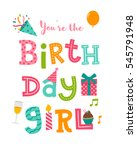 """you're the birthday girl""... 