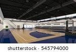basketball court. sport arena.... | Shutterstock . vector #545794000