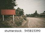 road construction site | Shutterstock . vector #545815390