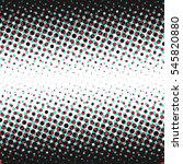 abstrct dot halftone design... | Shutterstock . vector #545820880