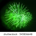 beautiful colorful fireworks... | Shutterstock . vector #545836648