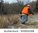 deer hunter   Shutterstock . vector #545854288