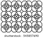 chinese pattern for chinese new ... | Shutterstock .eps vector #545857690