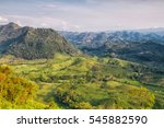 guatemala landscapes. | Shutterstock . vector #545882590