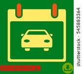 car calendar day icon. vector...   Shutterstock .eps vector #545883364