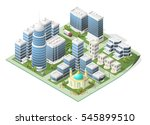 set of isolated high quality... | Shutterstock .eps vector #545899510