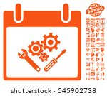 instrument tools calendar day... | Shutterstock .eps vector #545902738