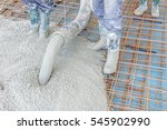 construction workers are... | Shutterstock . vector #545902990