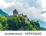 gutenberg castle in the... | Shutterstock . vector #545920630