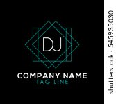 dj logo | Shutterstock .eps vector #545935030