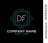 df logo | Shutterstock .eps vector #545935156