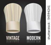 chef's toques vector... | Shutterstock .eps vector #54594241
