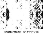 grunge black and white urban... | Shutterstock .eps vector #545944948
