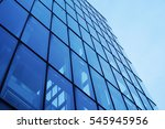 modern architecture perspective ... | Shutterstock . vector #545945956
