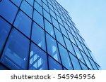 modern architecture perspective ... | Shutterstock . vector #545945956