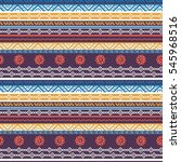 tribal seamless pattern similar ... | Shutterstock .eps vector #545968516