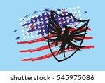 american eagle graphic design... | Shutterstock .eps vector #545975086
