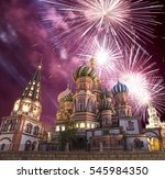Fireworks Over The Cathedral O...