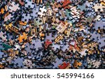 Jigsaw Puzzle Color Background