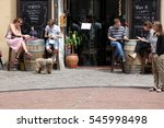 barcelona spain   june 9  at... | Shutterstock . vector #545998498