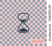 hourglass icon  web design...   Shutterstock .eps vector #546009139