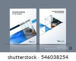 business vector. brochure... | Shutterstock .eps vector #546038254