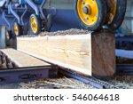 Sawmill. The Process Of Cuttin...