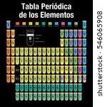 tabla periodica de los... | Shutterstock .eps vector #546065908