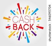 cash back. poster  banner ... | Shutterstock .eps vector #546095704
