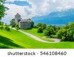 gutenberg castle in the... | Shutterstock . vector #546108460