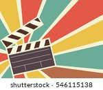 retro illustration featuring a... | Shutterstock .eps vector #546115138