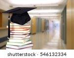 very blurry school hall... | Shutterstock . vector #546132334