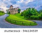 gutenberg castle in the... | Shutterstock . vector #546134539