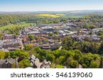 an aerial view of suburban... | Shutterstock . vector #546139060