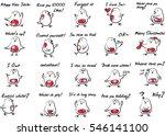 chick talk | Shutterstock .eps vector #546141100