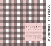 fabric pattern. plaid. vector... | Shutterstock .eps vector #546146500